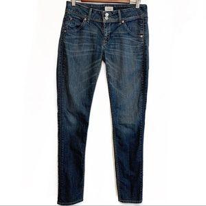 Hudson Collin Skinny Jeans Size 28